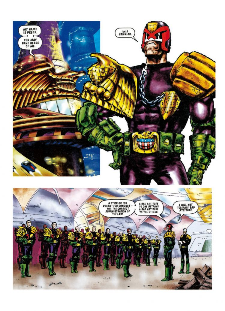 Judge Dredd The Pit review