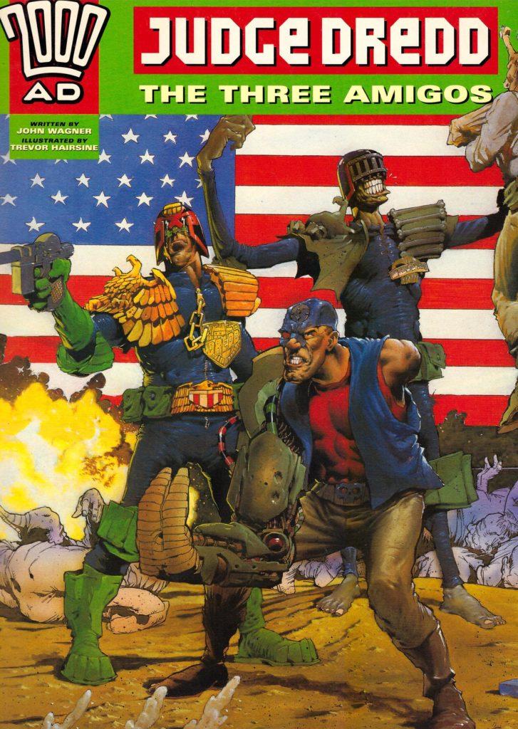 Judge Dredd: The Three Amigos