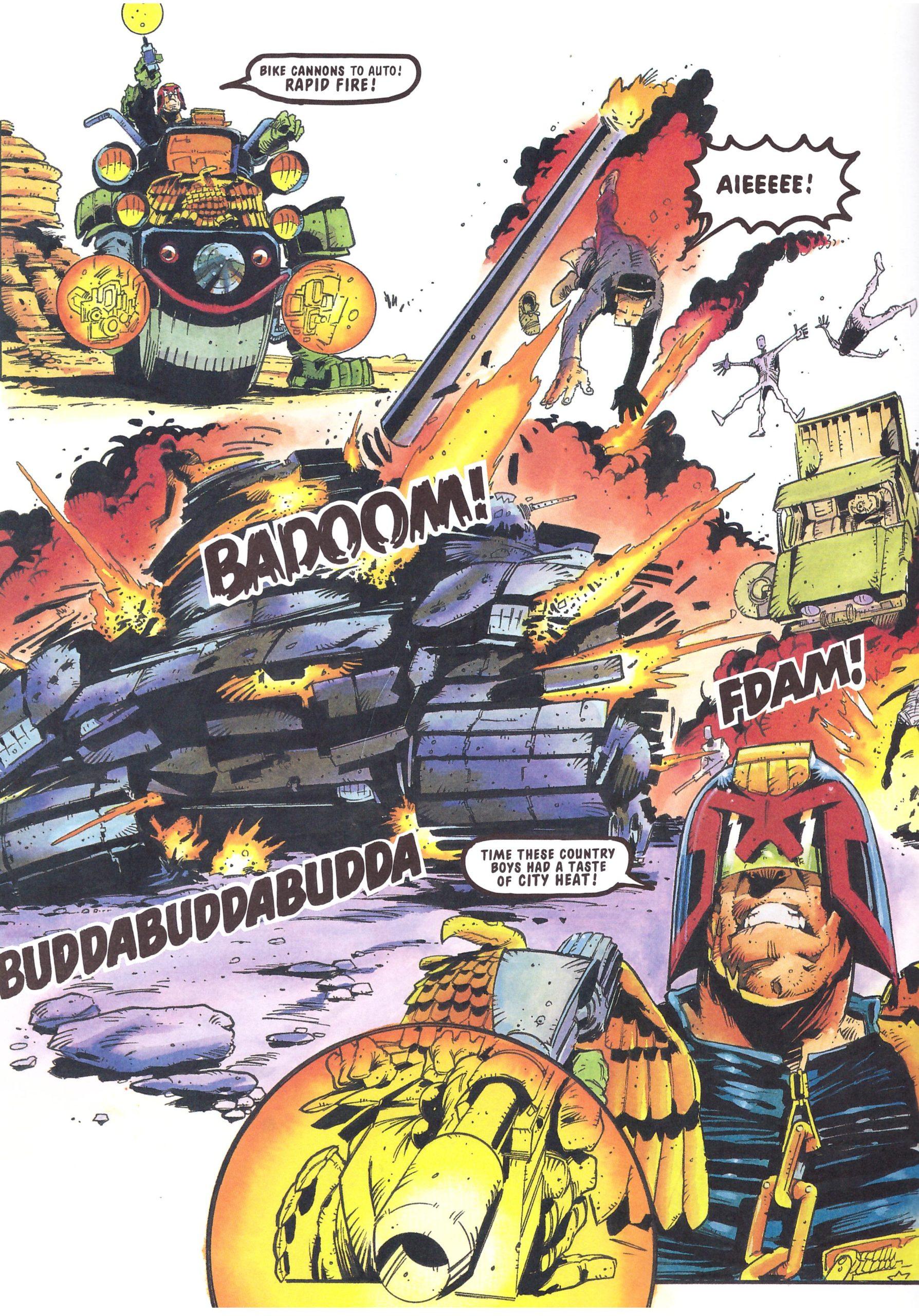 Judge Dredd The Three Amigos review