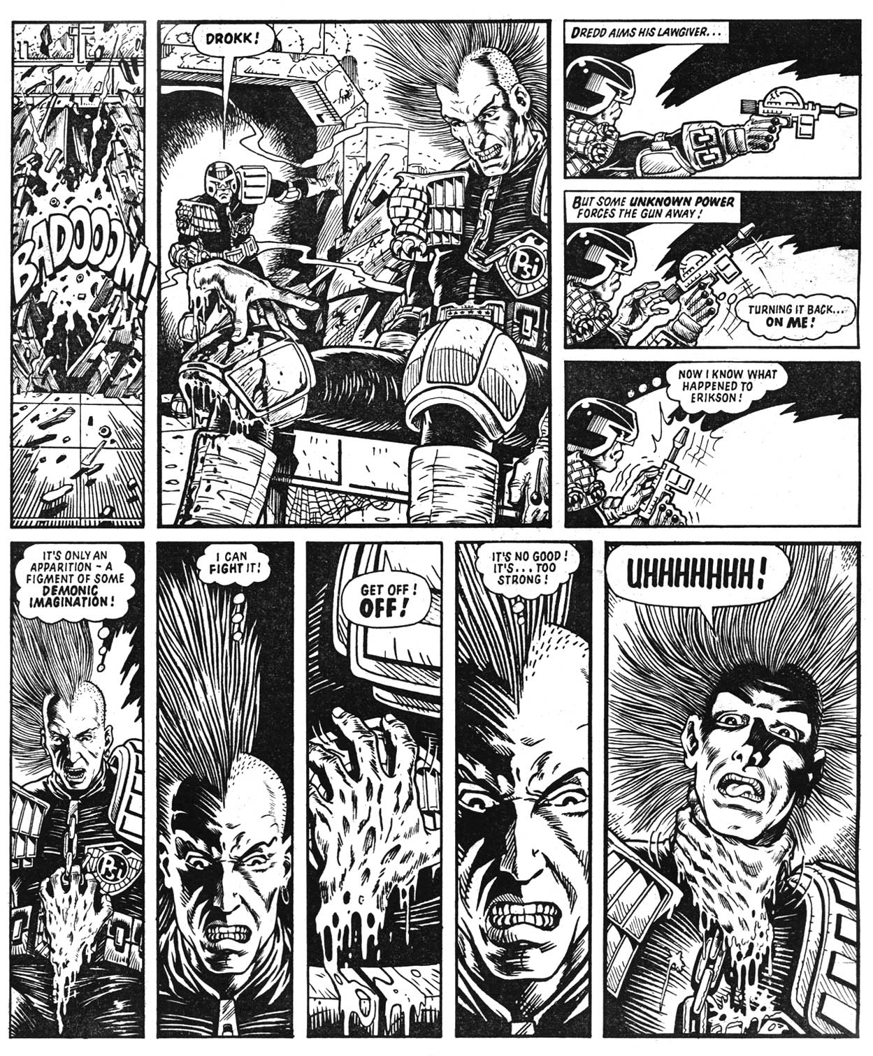 Judge Dredd 22 review