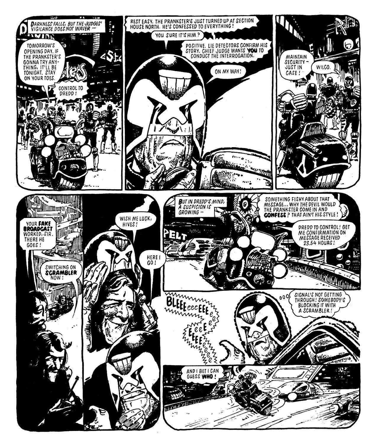 Judge Dredd 23 review