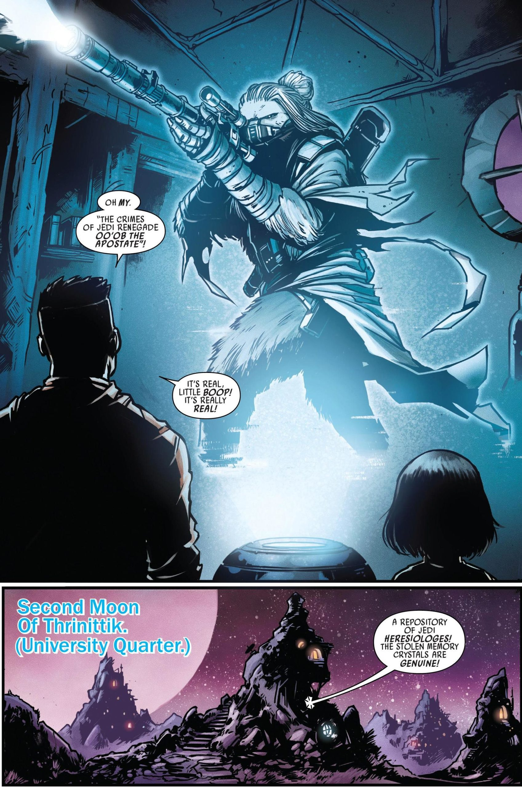 Star Wars Doctor Aphra 6 Unspeakable Rebel Superweapon Review