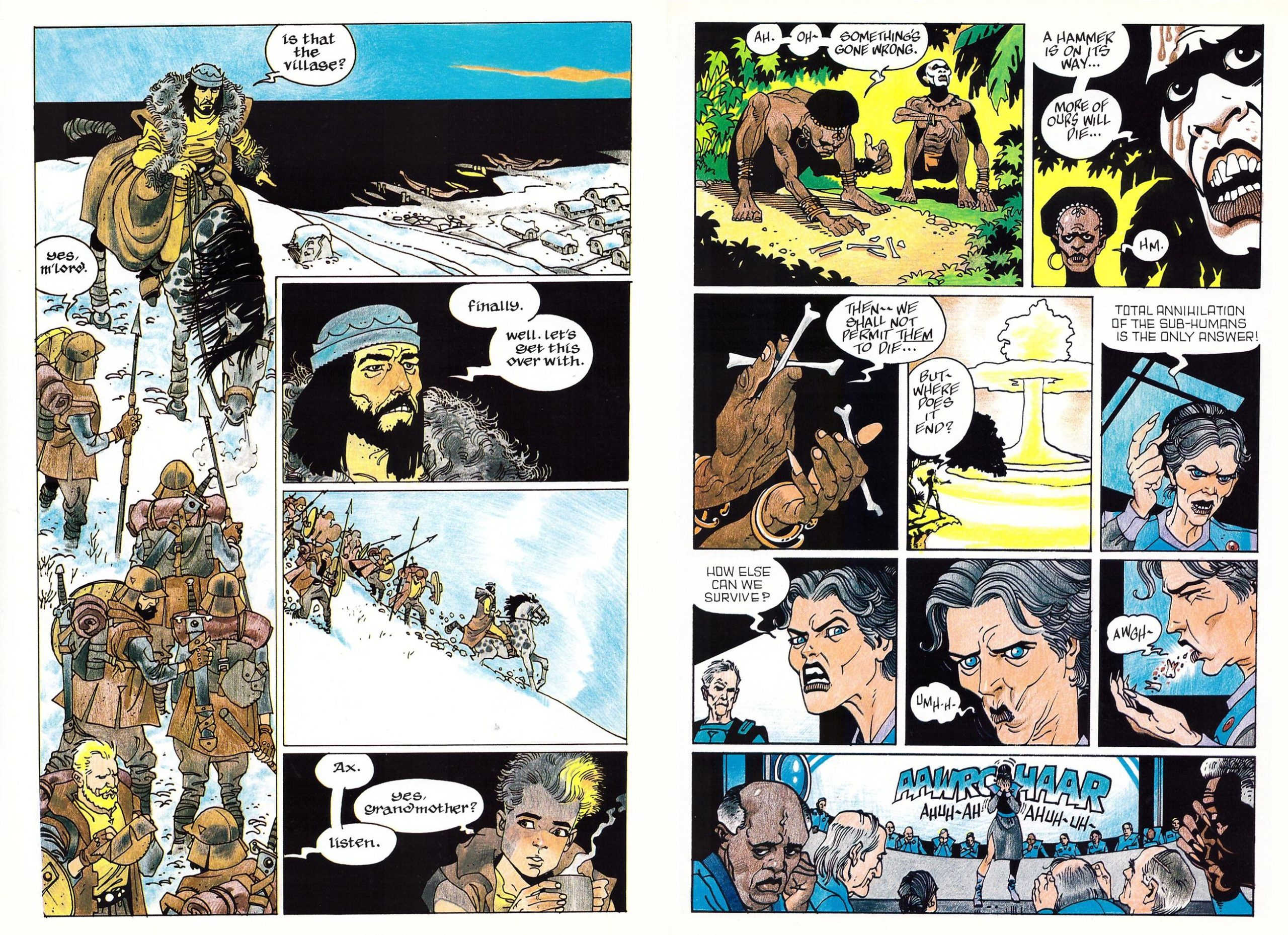 Ax graphic novel review
