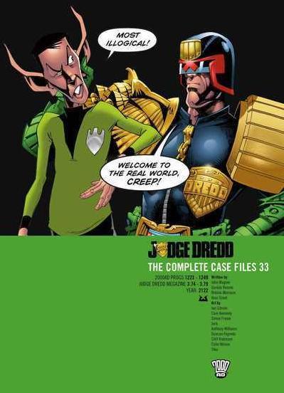 Judge Dredd: The Complete Case Files 33