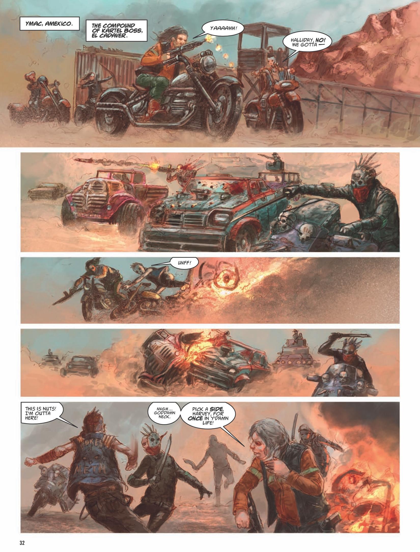 Dark Judges The Fall of Deadworld Book 2