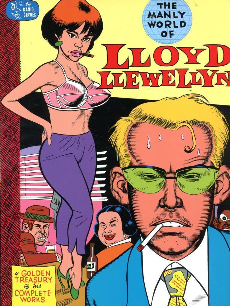 The Manly World of Lloyd Llewellyn