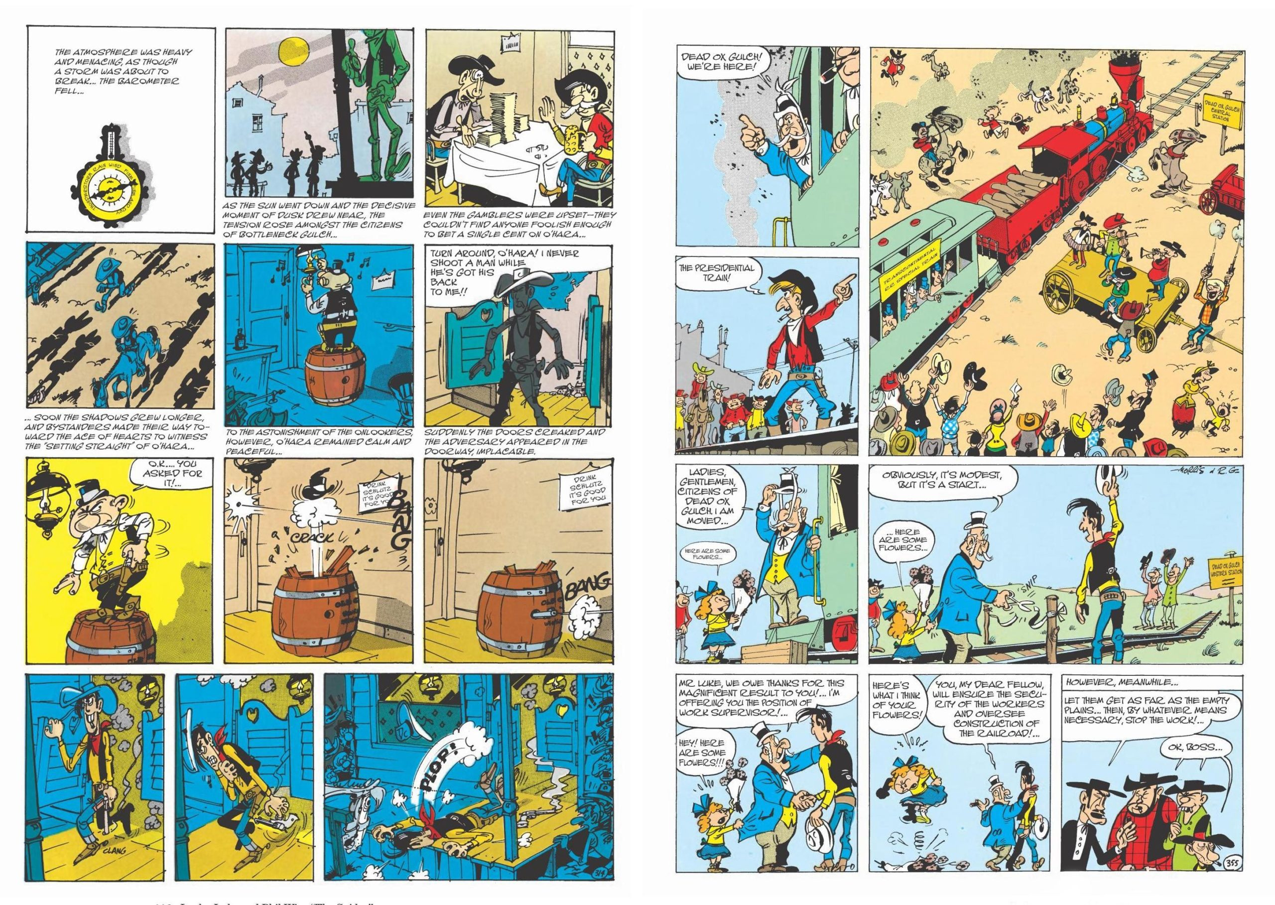 Lucky Luke - The Complete Collection Volume 3 review