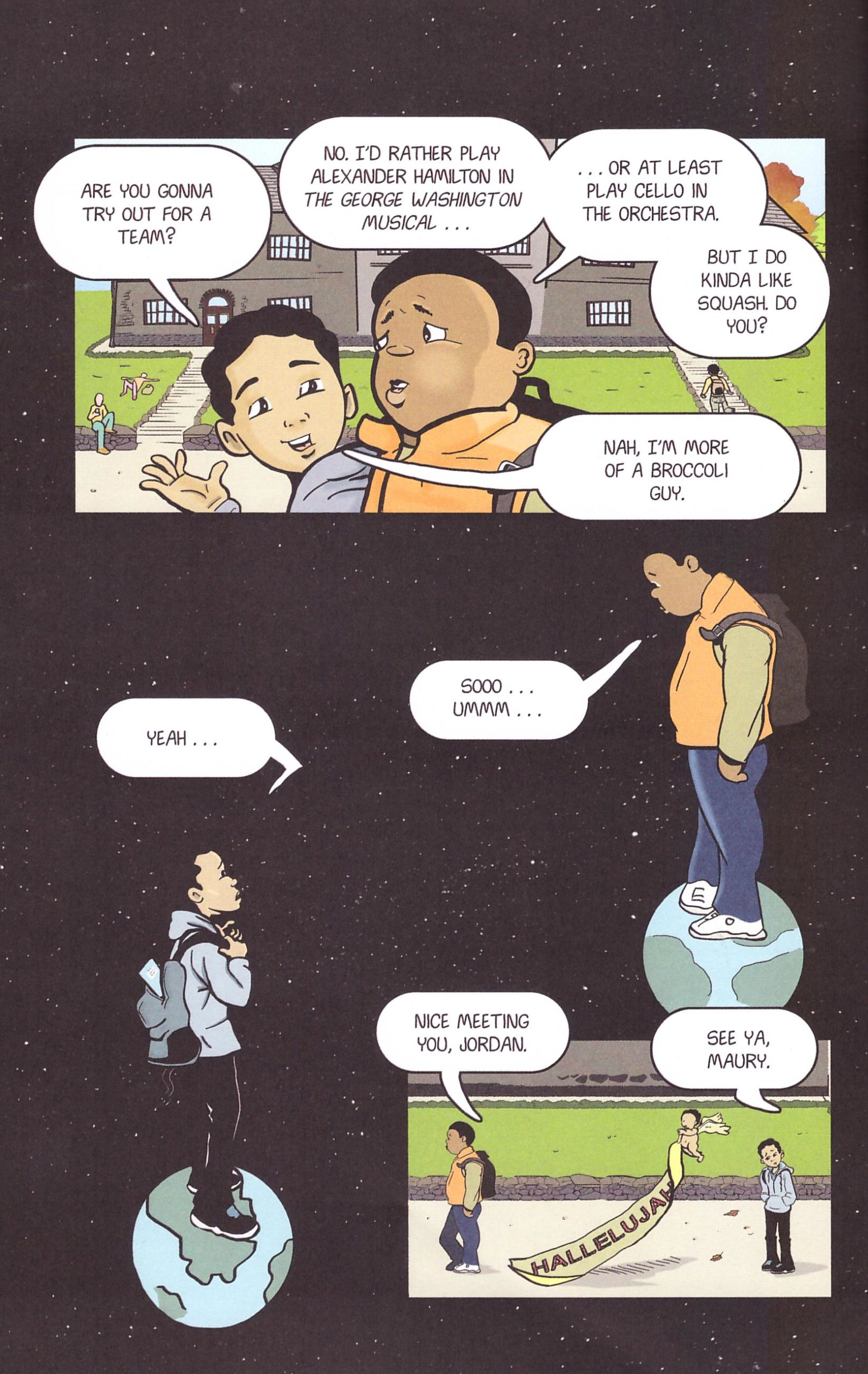 New Kid graphic novel review
