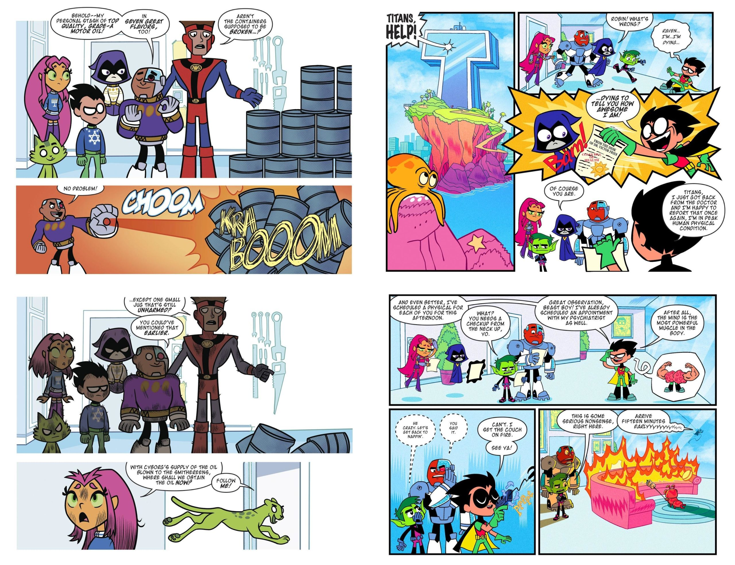 Teen Titans Go Falling Stars review