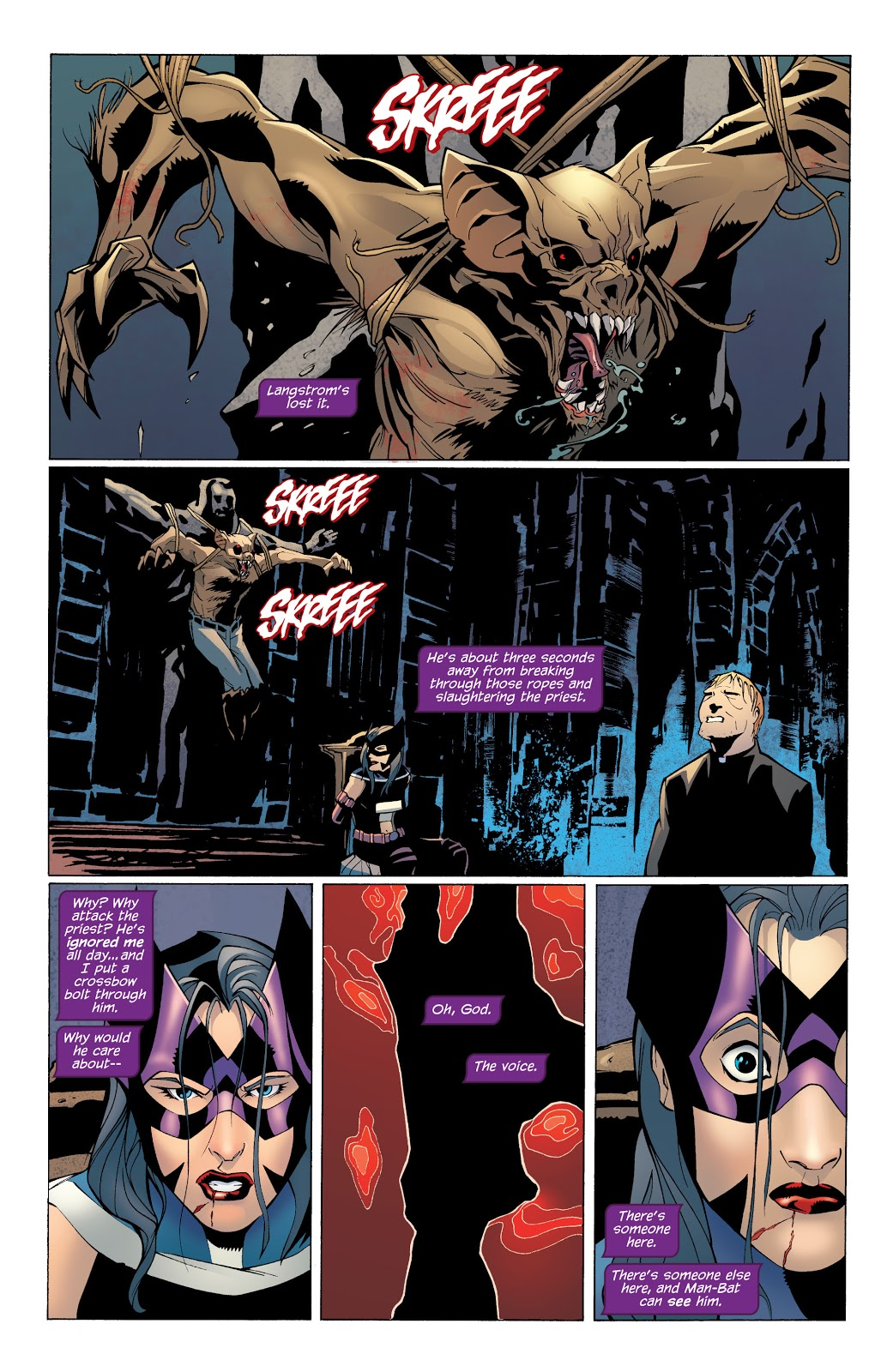 Batman Streets of Gotham Leviathan review