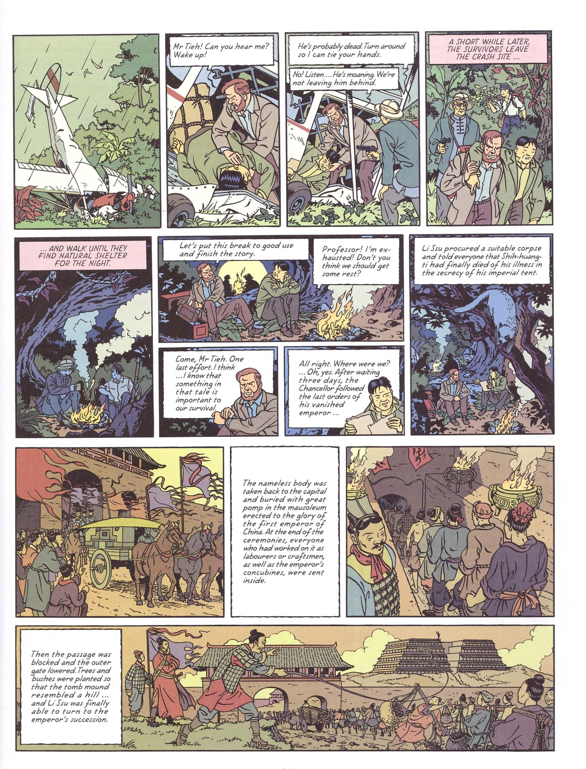 Blake and Mortimer Valley of the Immortals pt 2 review