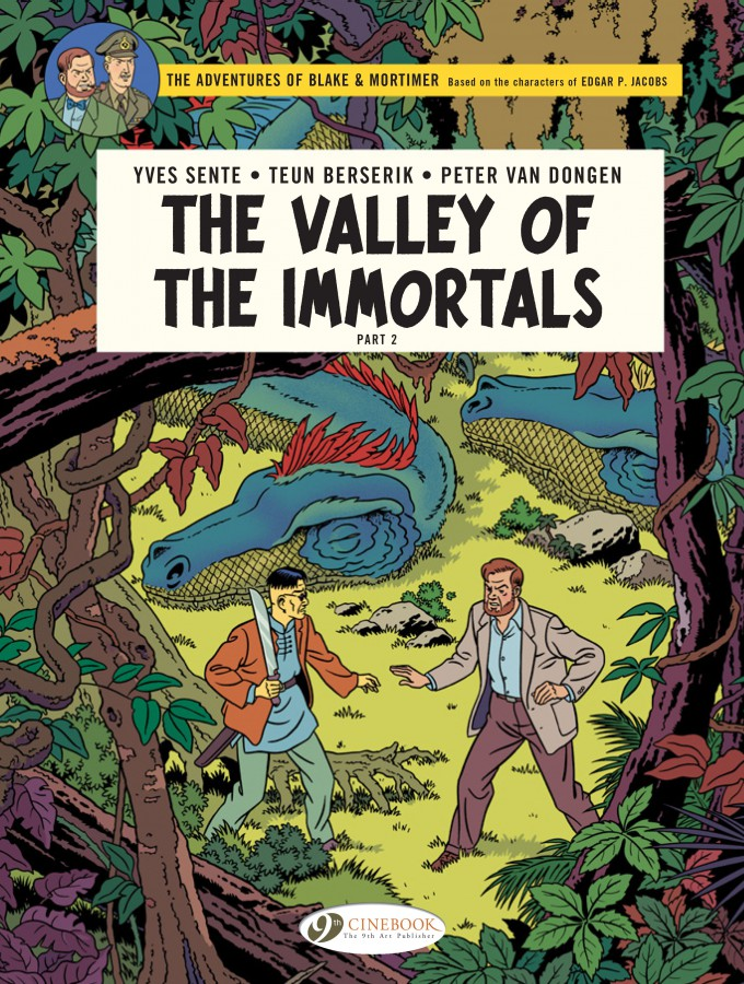 The Adventures of Blake & Mortimer: The Valley of the Immortals Part 2