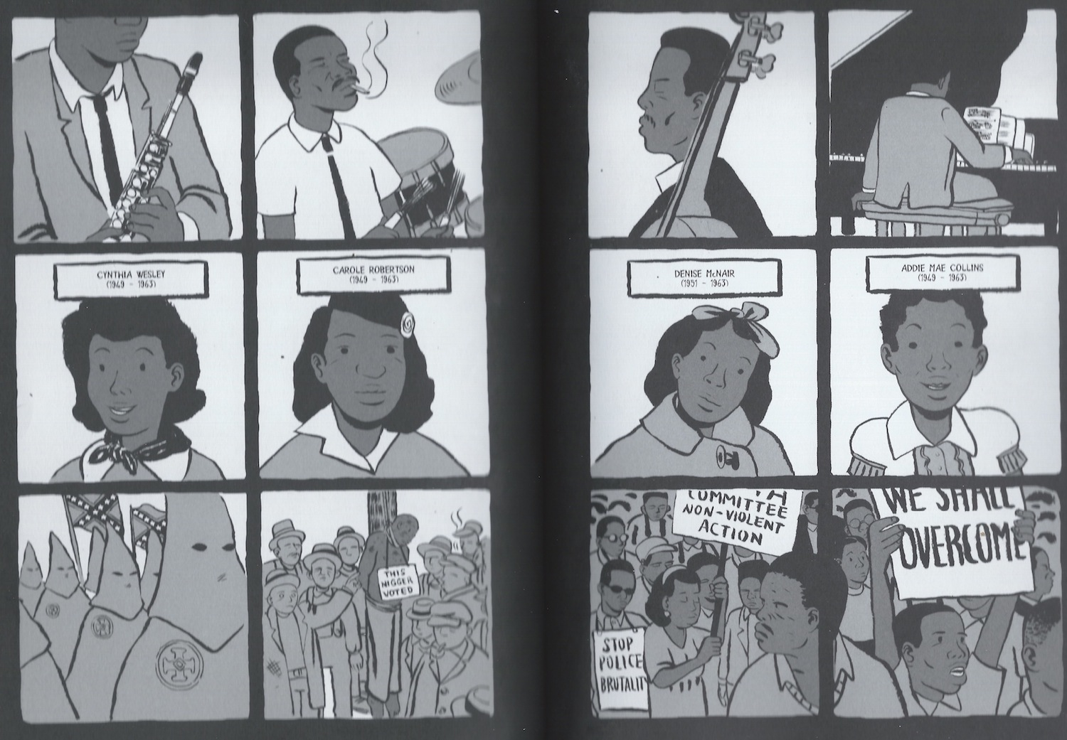 Coltrane graphic novel review