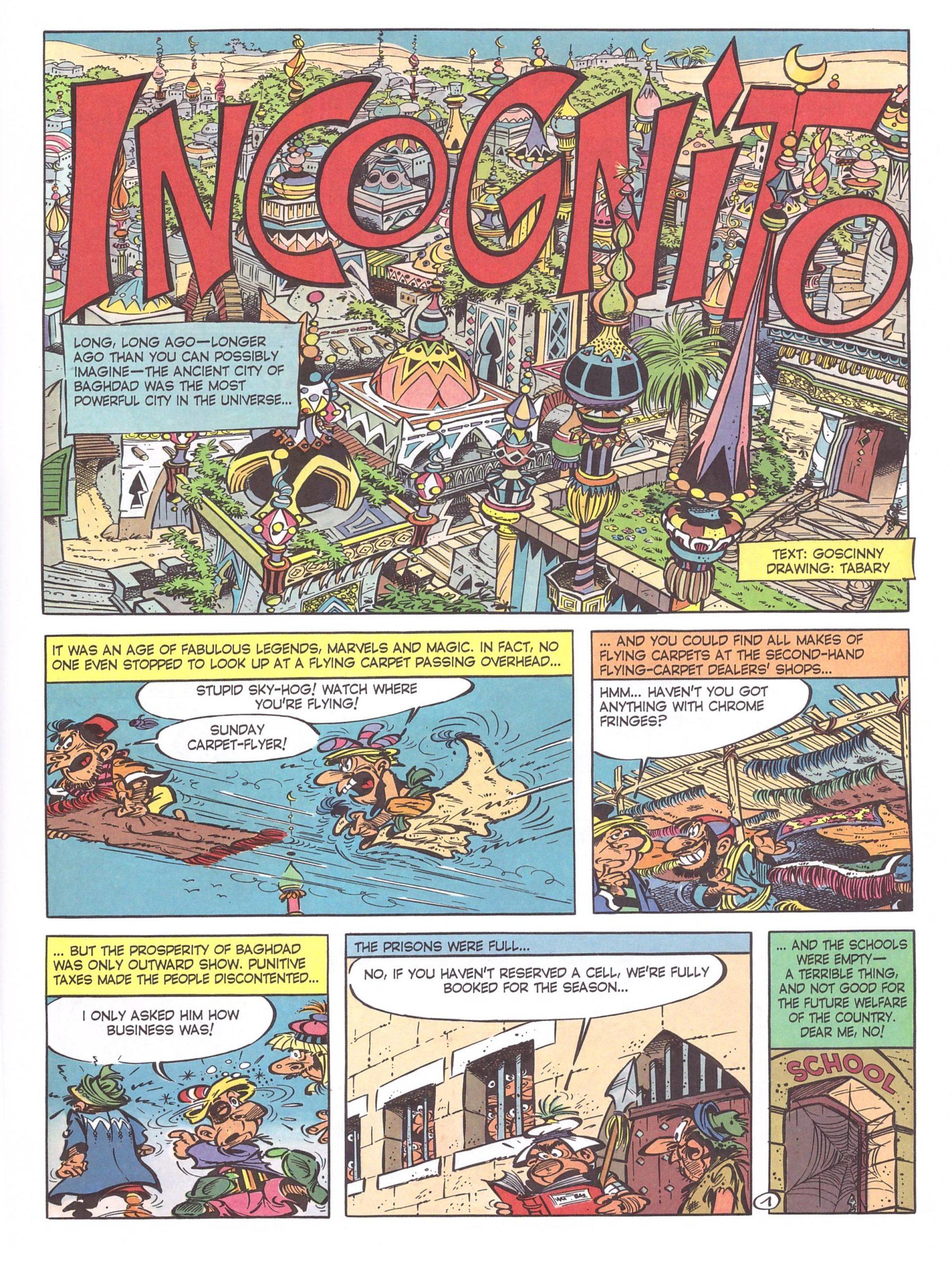 Izngoud and the Magic Carpet review