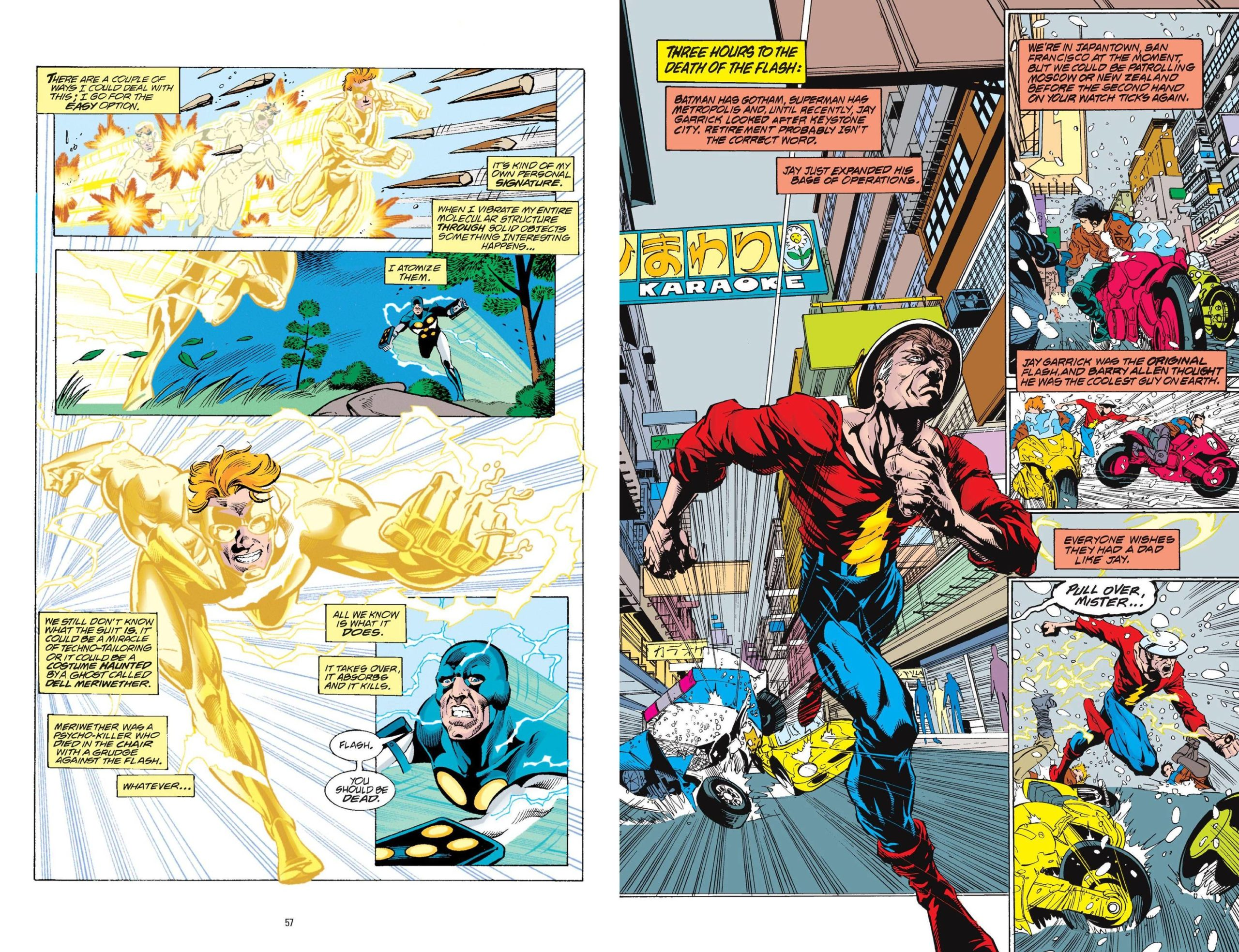 The Flash by Grant Morrison and Mark Millar review