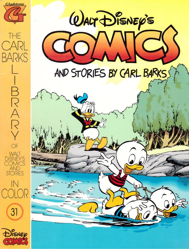 Walt Disney's Comics and Stories by Carl Barks No. 31