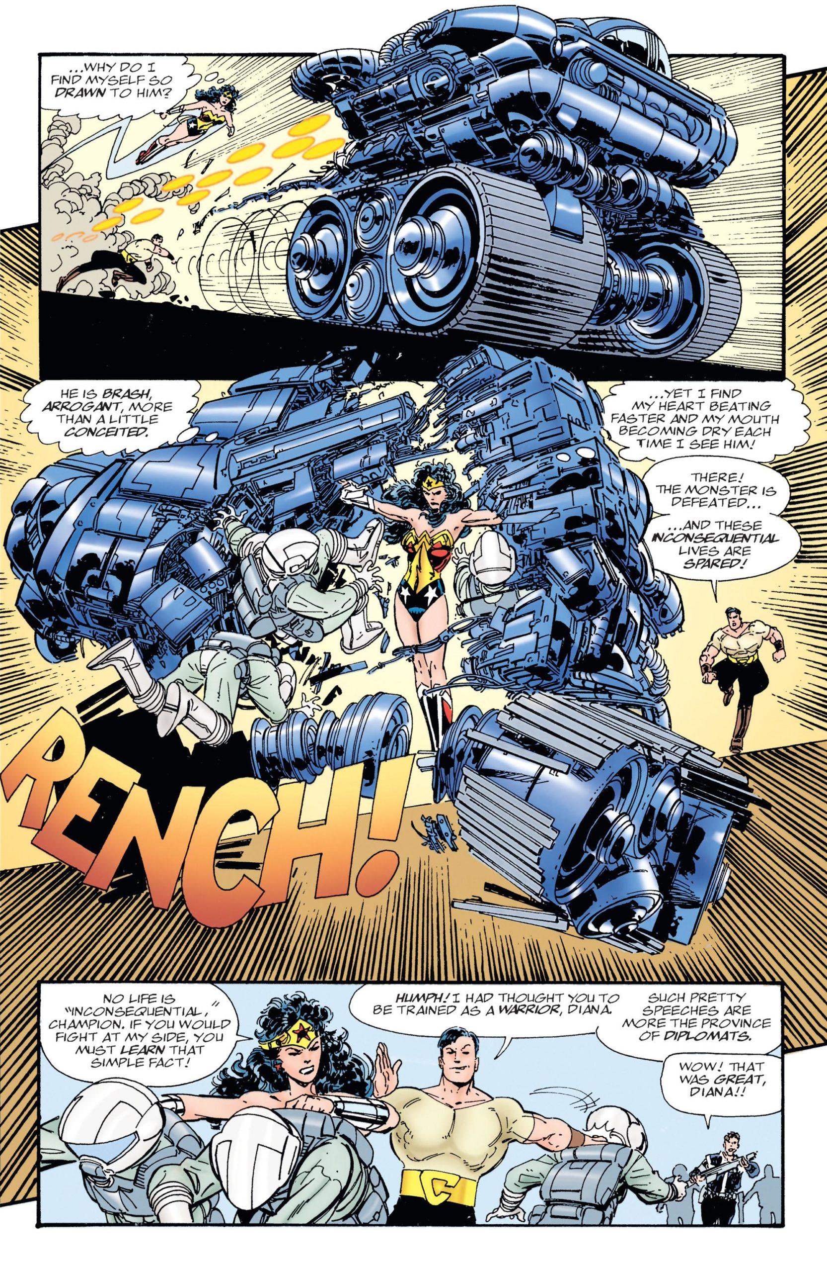 Wonder Woman by John Byrne Book 2 review
