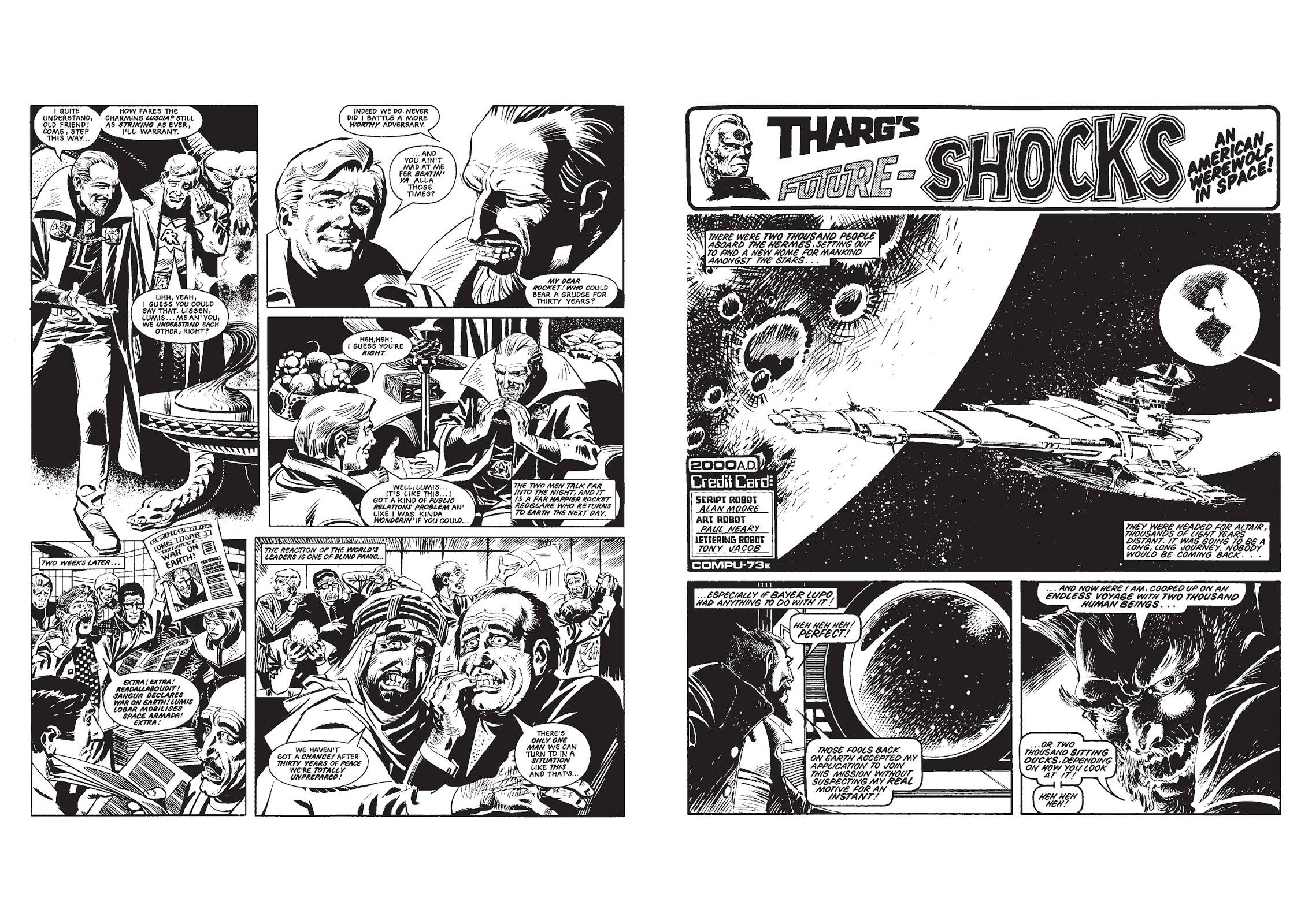 Alan Moore's Shocking Futures review
