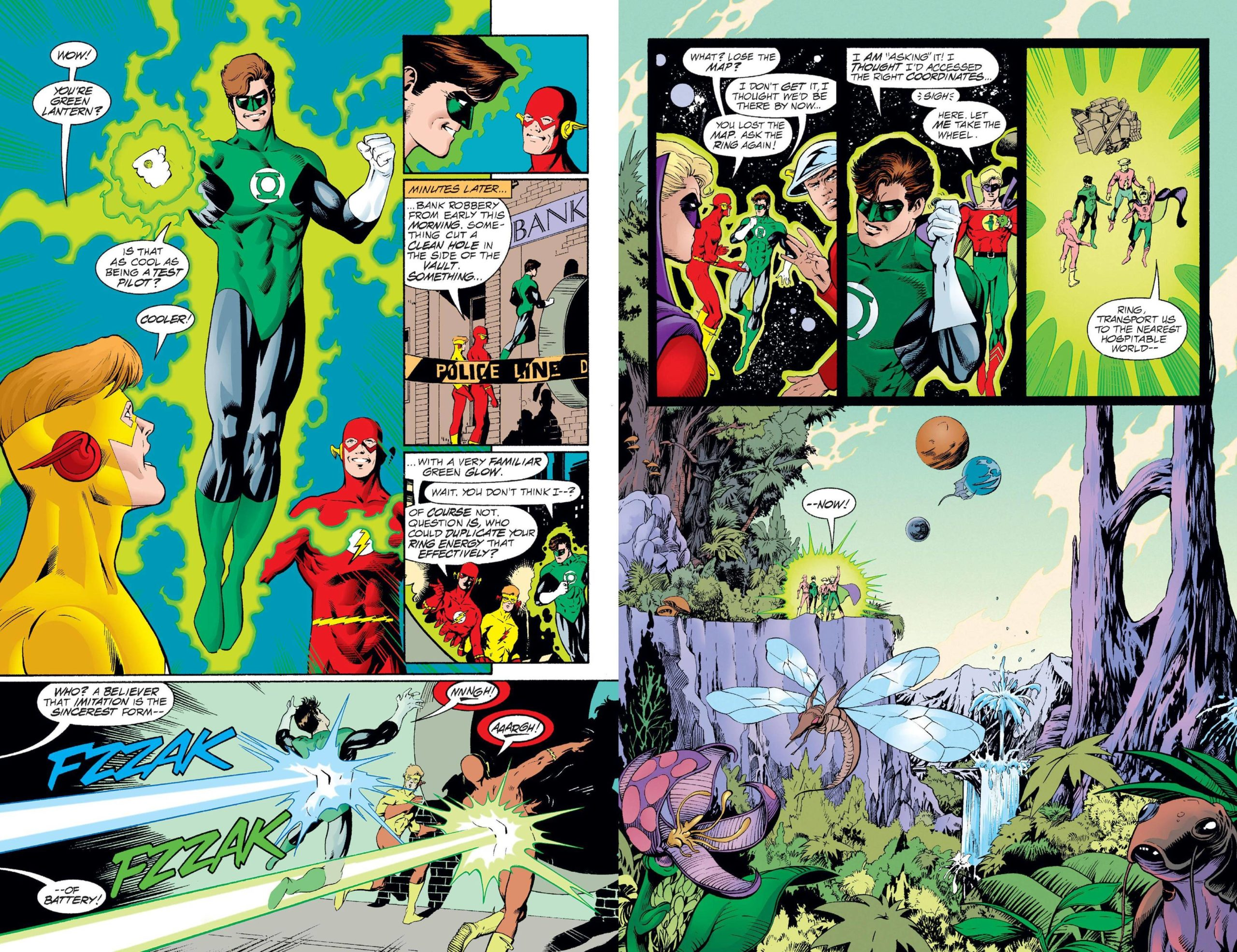Flash & Green Lantern The Brave & The Bold review