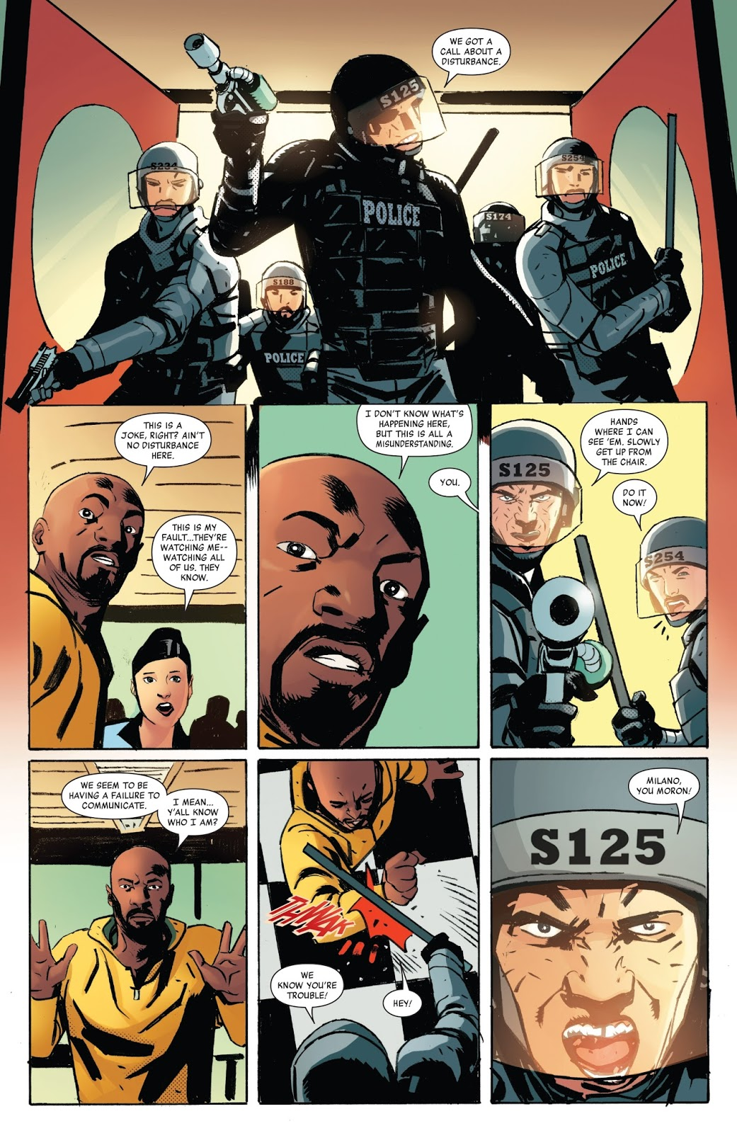 Luke Cage Caged review