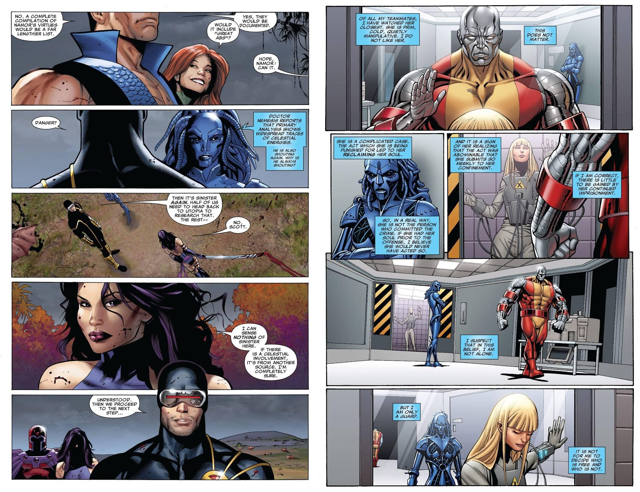 Uncanny X-Men Gillen V2 review