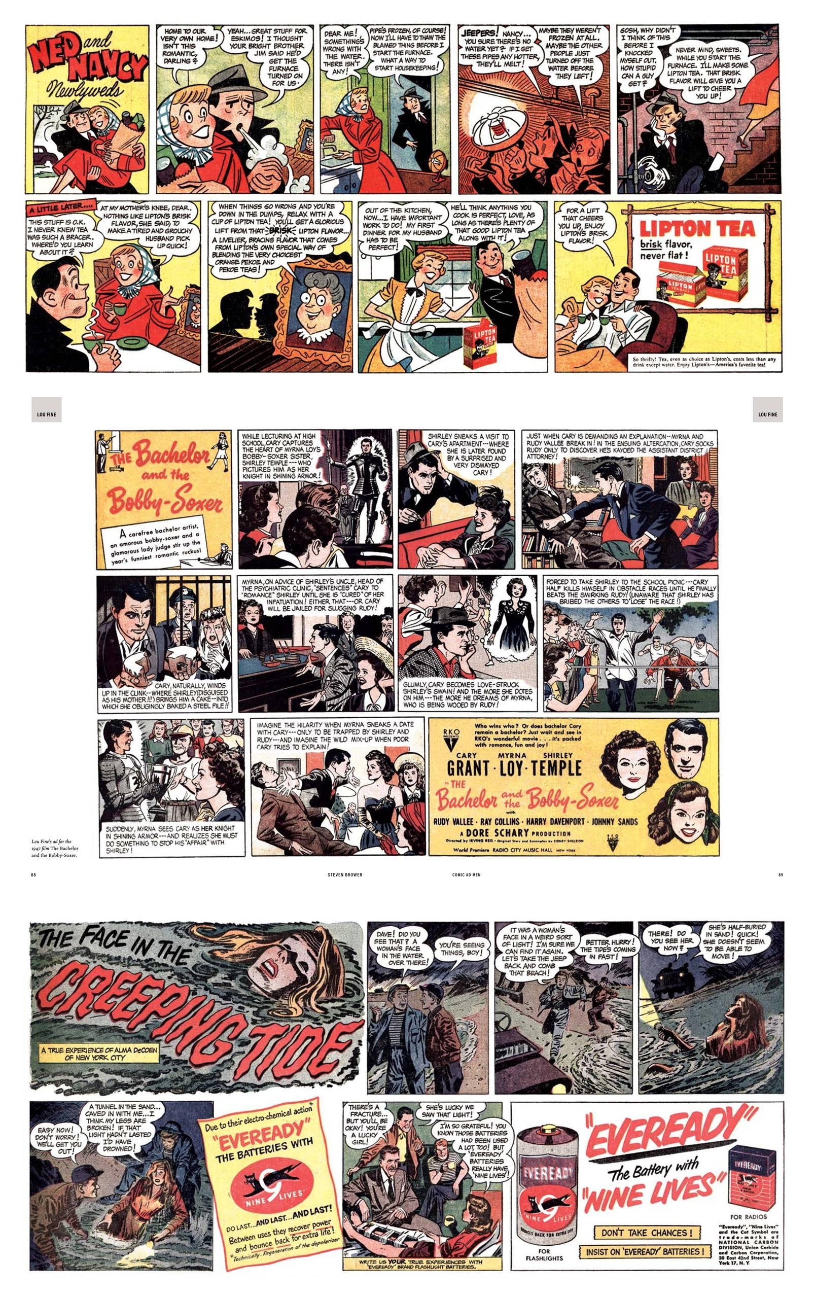 Comics Ad Men review