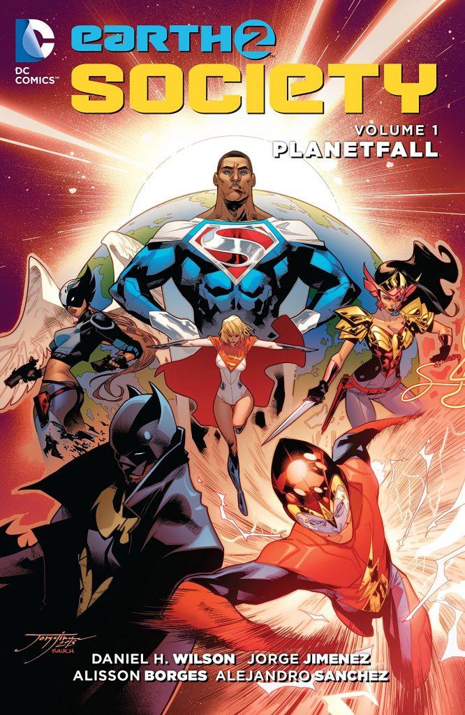Earth 2: Society Volume 1 – Planetfall