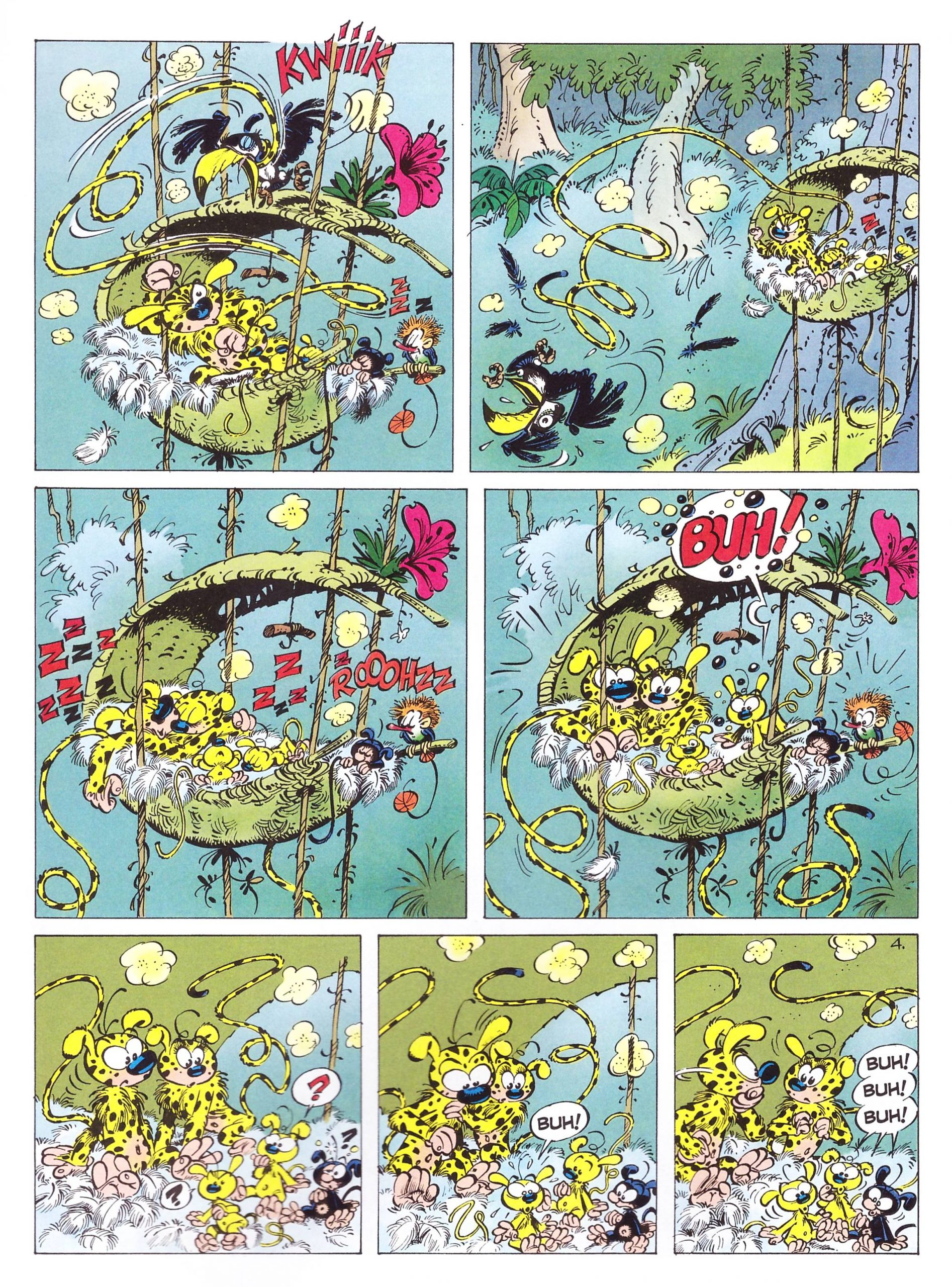Marsupilami 4 The Pollen of Monte Urticando review