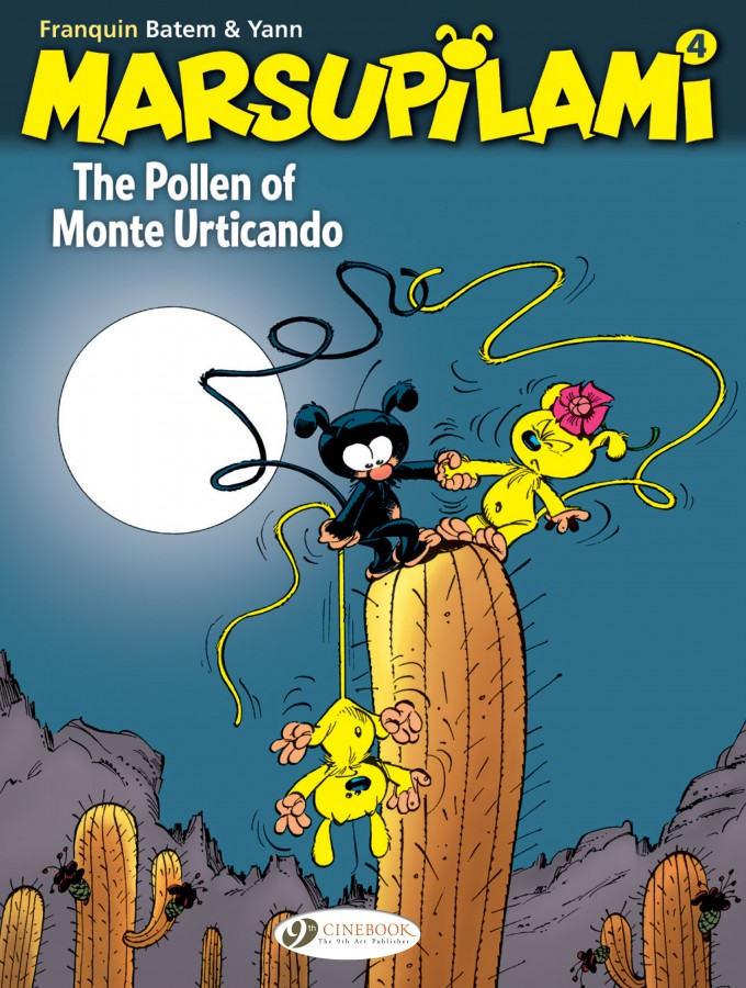 Marsupilami 4: The Pollen of Monte Urticando
