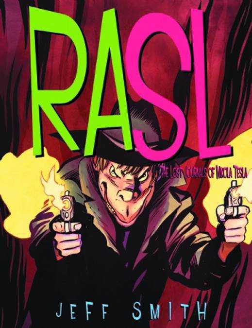 RASL 4: The Lost Journals of Nikola Tesla