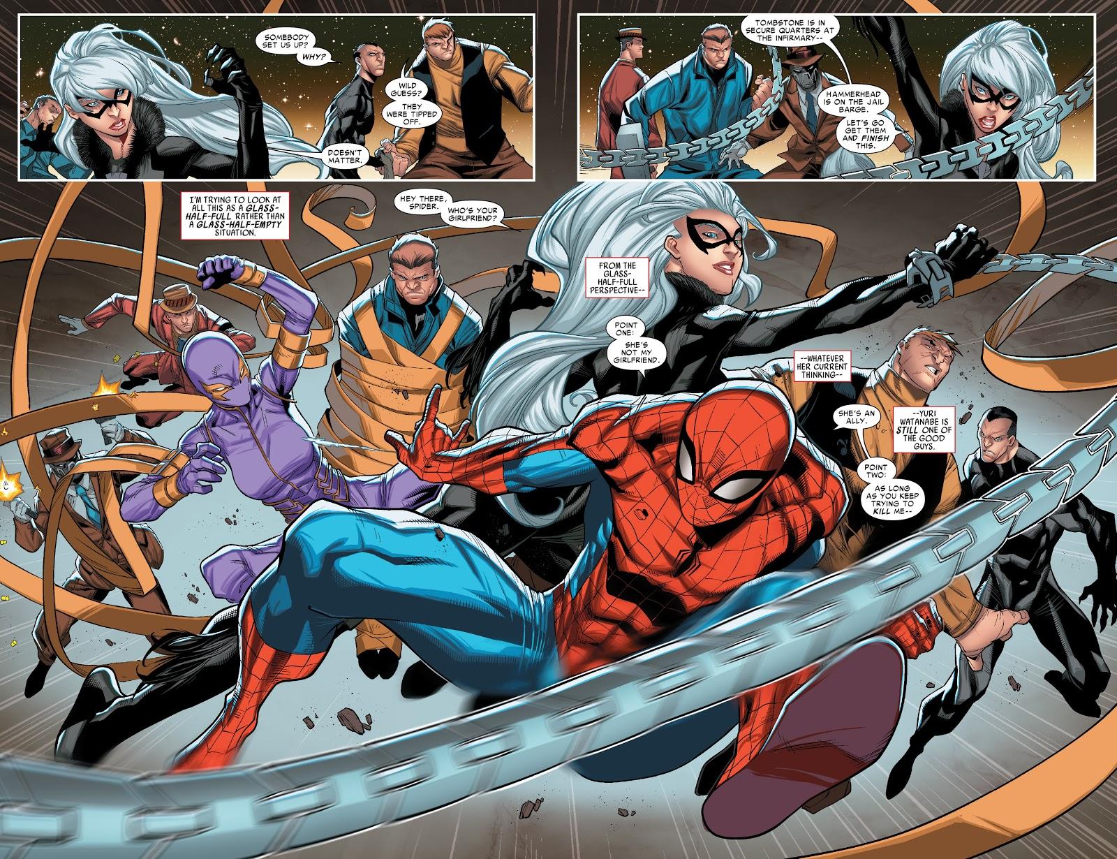 Spider-Man Spiral review
