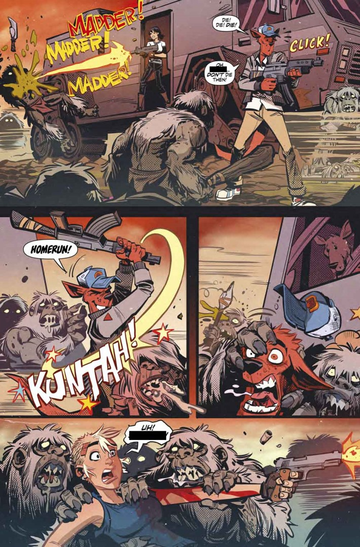 Tank Girl Action Alley review