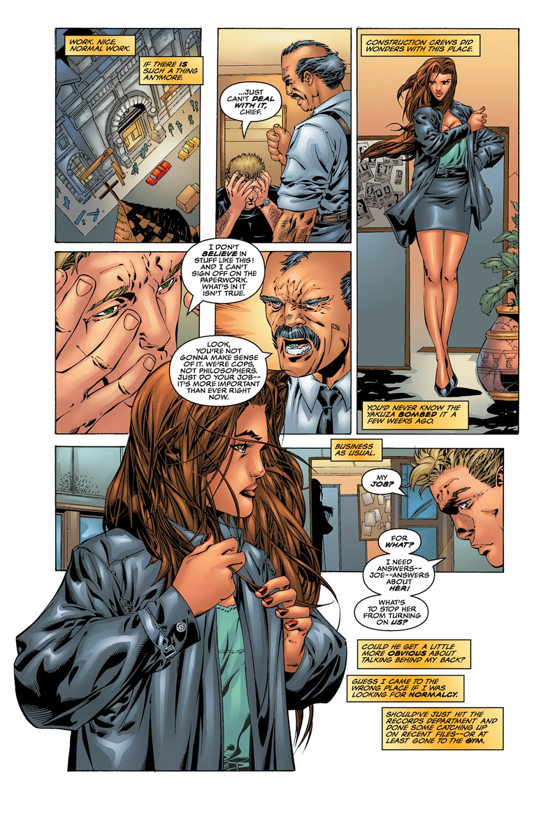 Witchblade Prevailing review