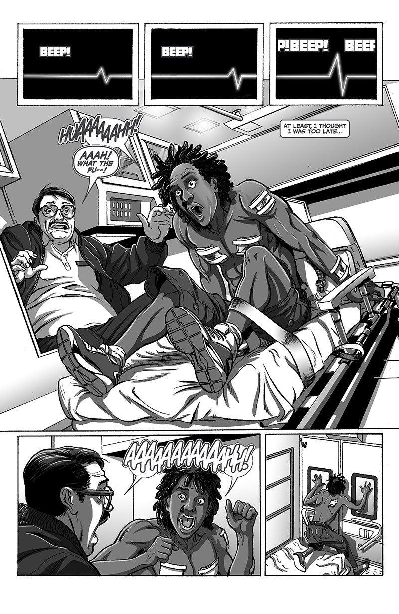 Black graphic novel review