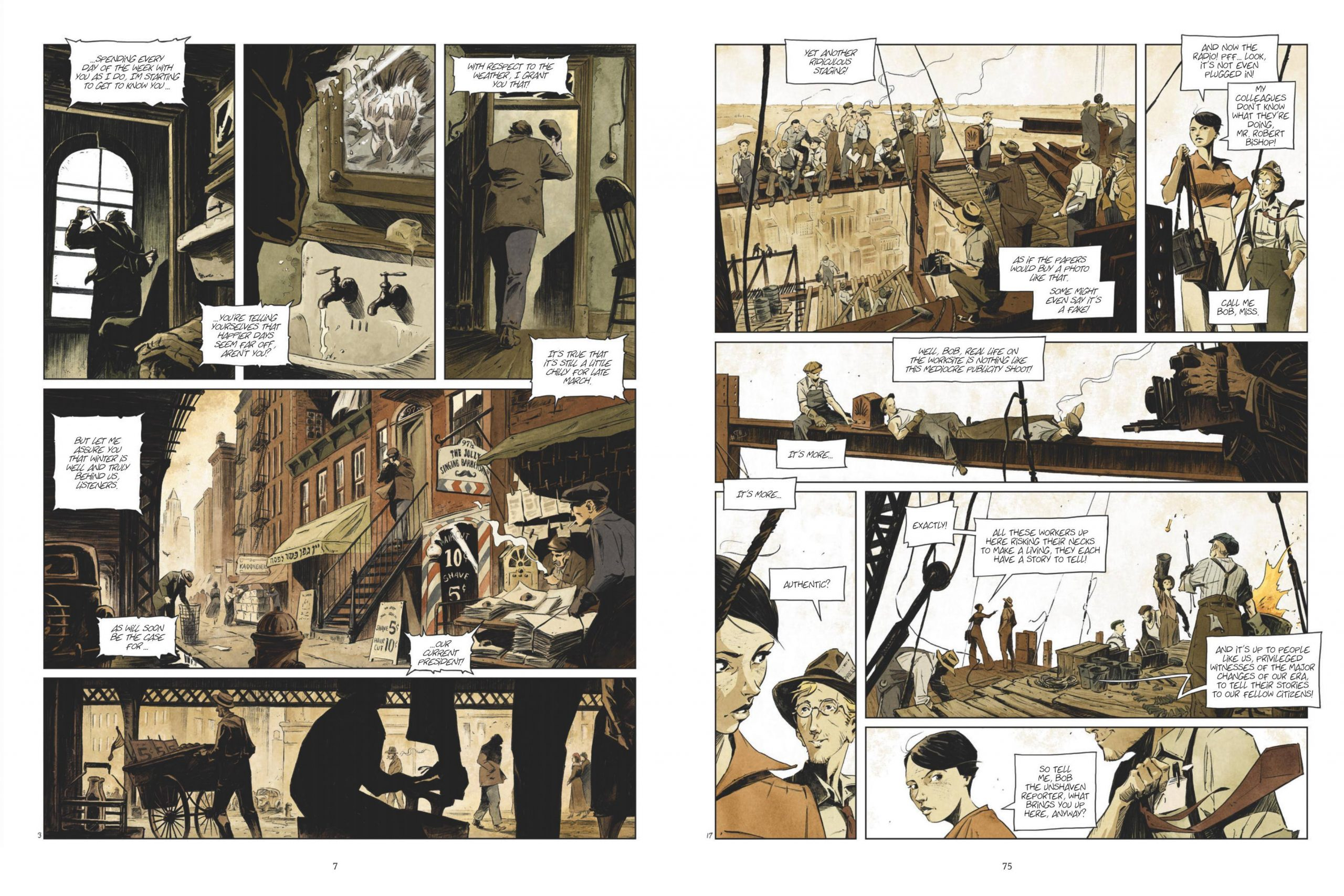 Giant graphic novel review