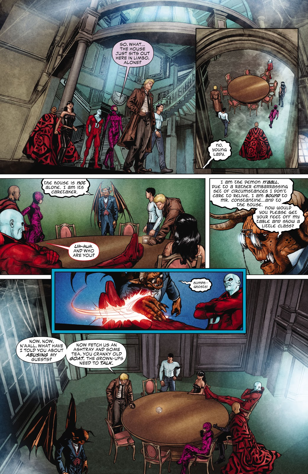 Justice League Dark V2 The Books of Magic review