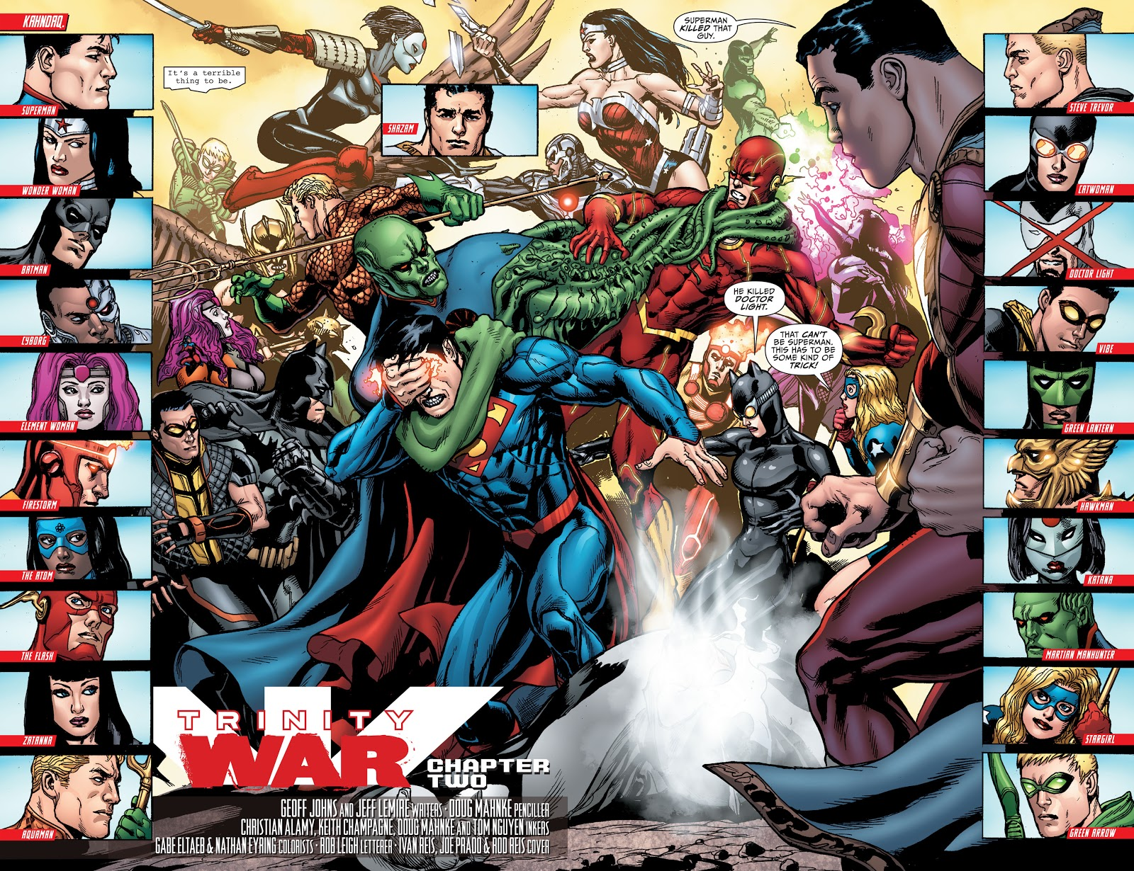 Justice League Trinity War review