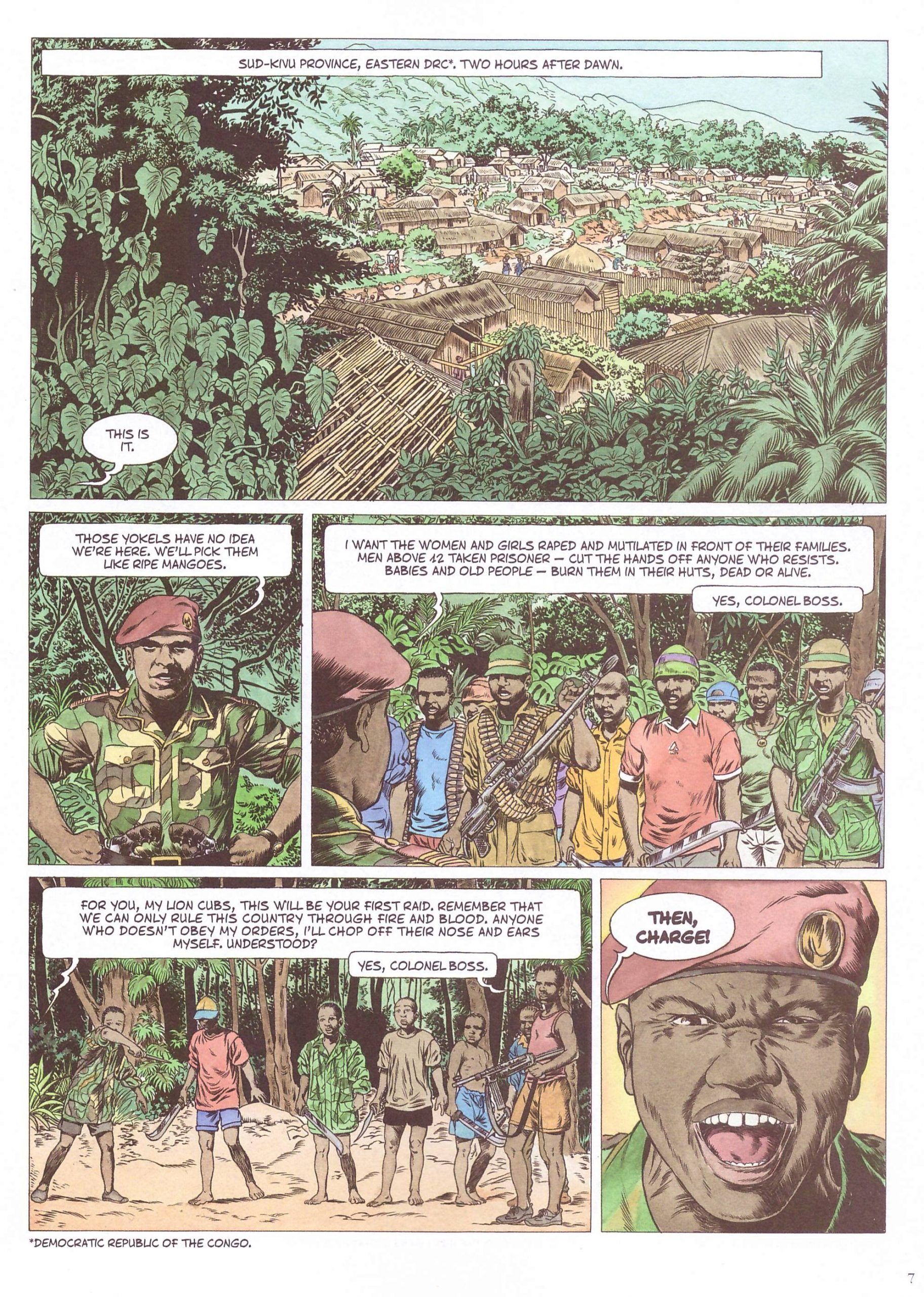 Kivu graphic novel review