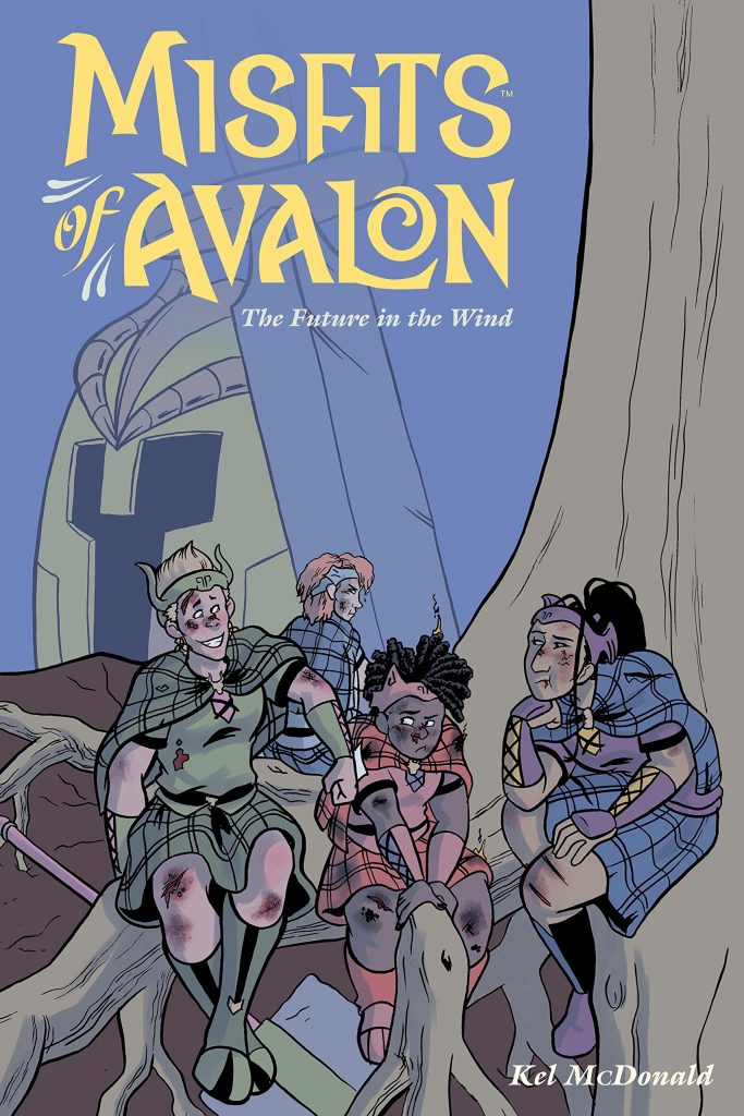 Misfits of Avalon Vol. 3: The Future in the Wind