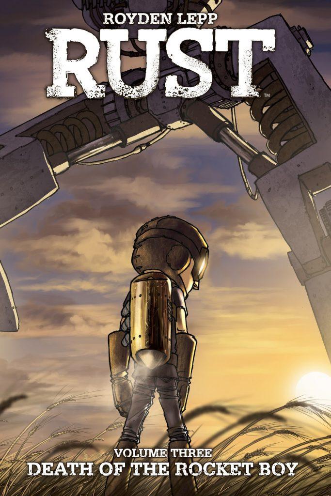 Rust Volume Three: Death of the Rocket Boy