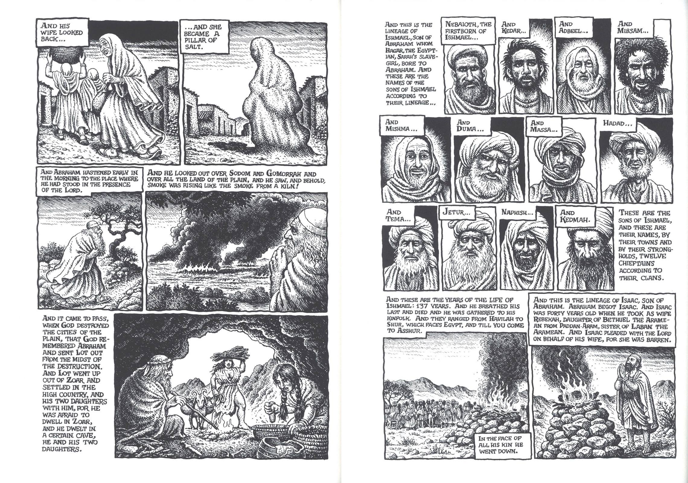 The Book of Genesis illustrated by R. Crumb review