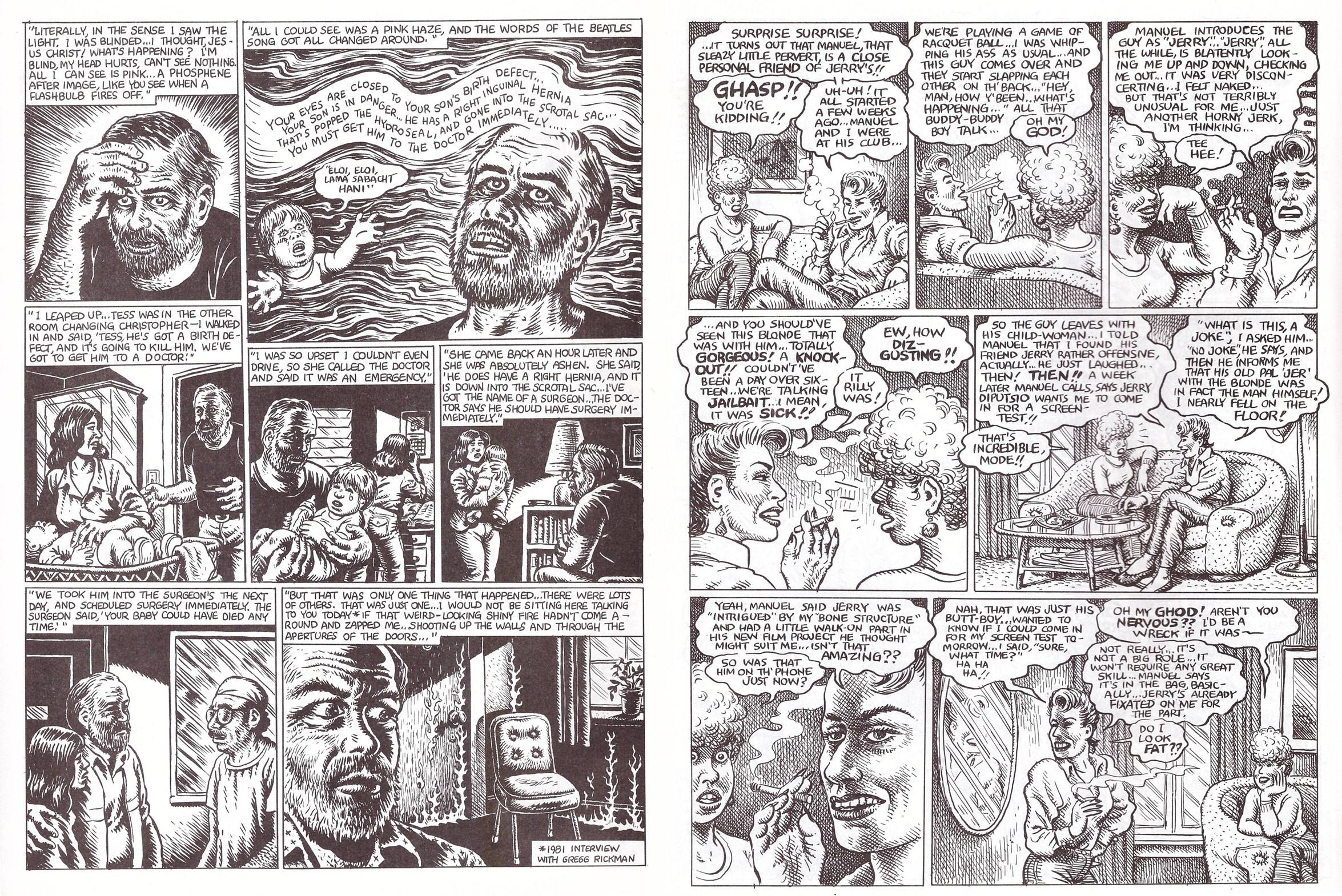 R. Crumb The Weirdo Years review