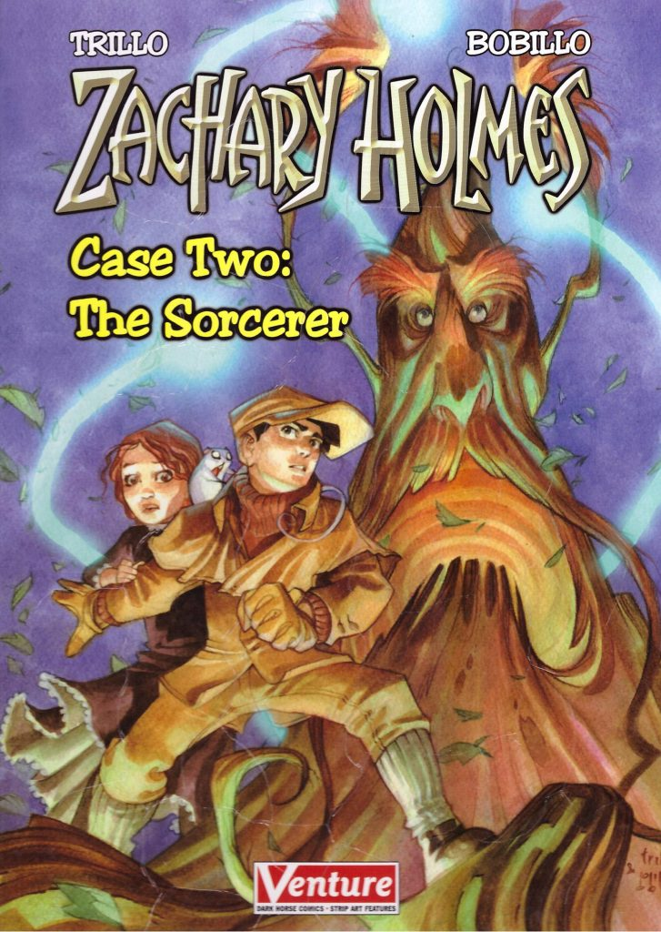 Zachary Holmes Case Two: The Sorcerer