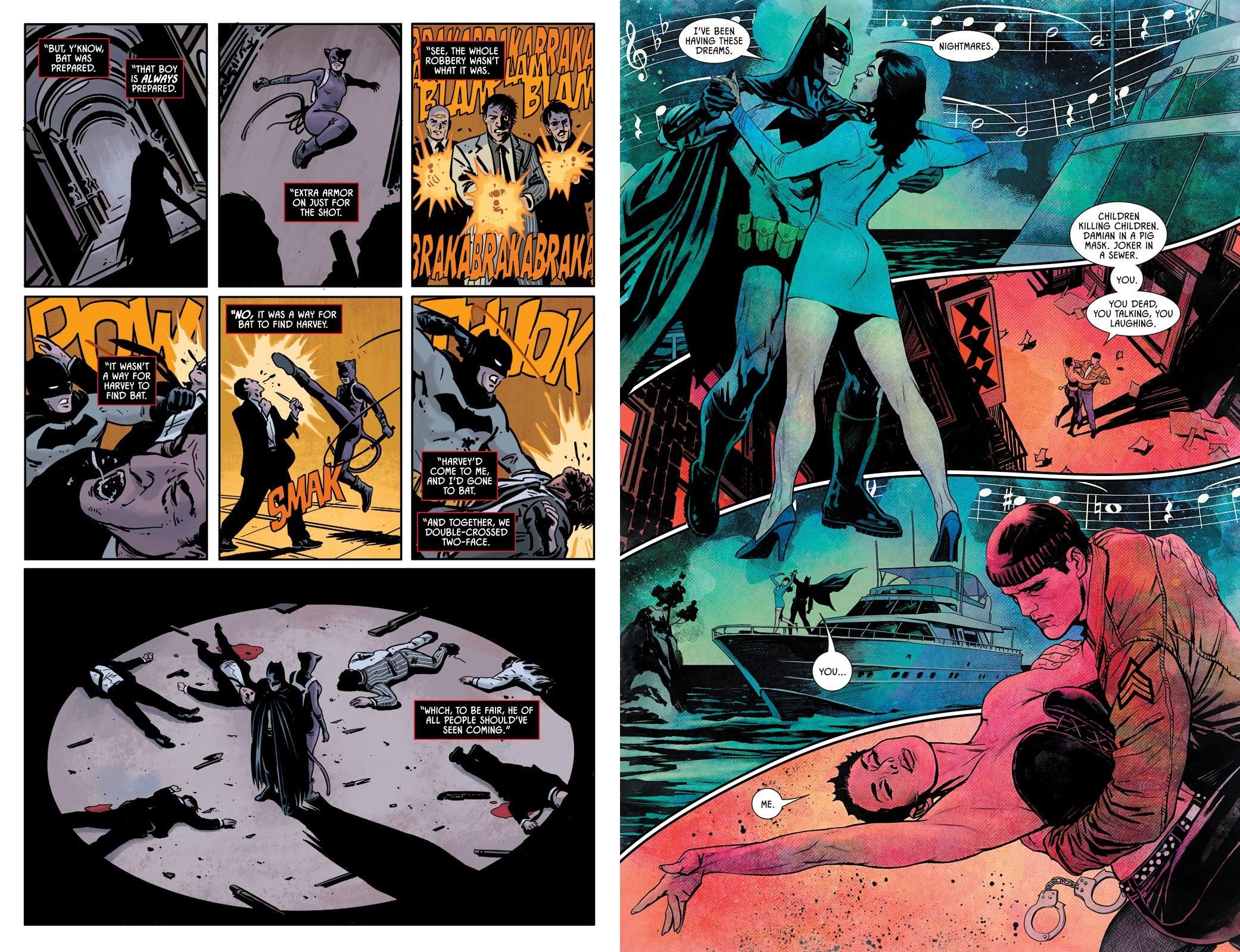 Batman Knightmares graphic novel review