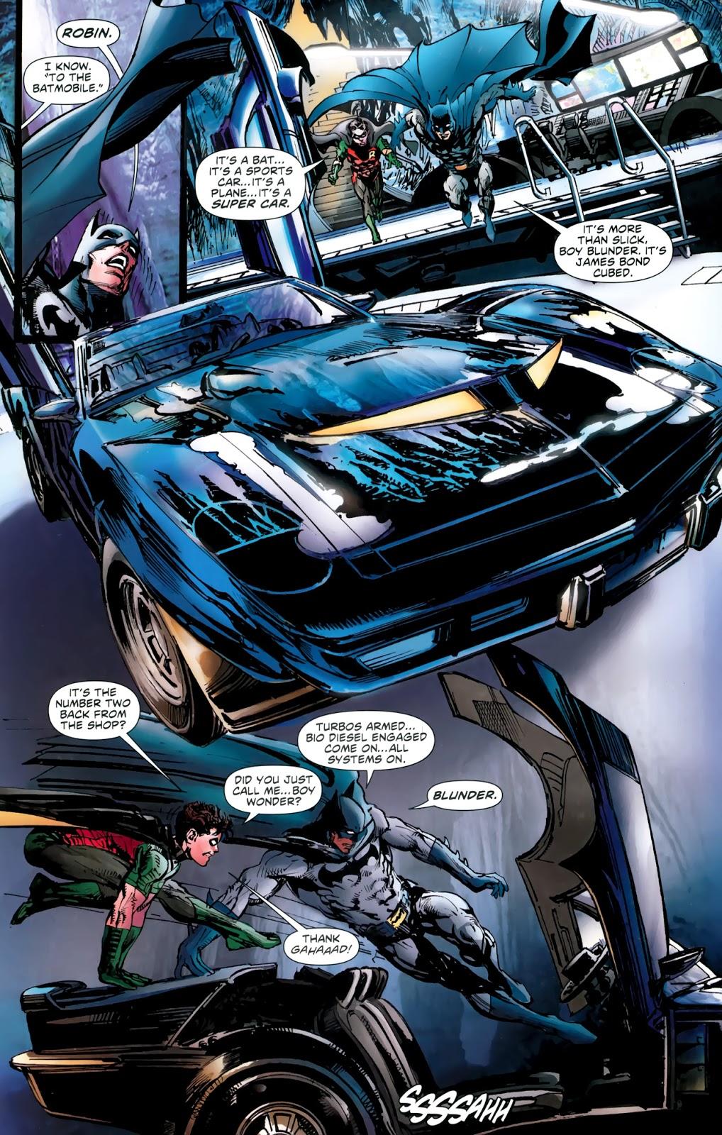 Batman Oyssey review