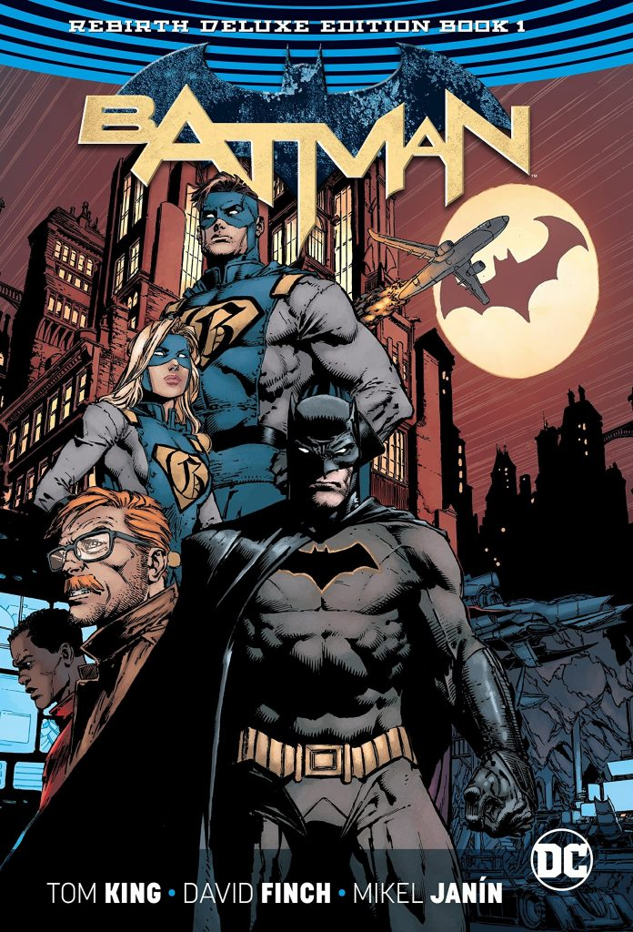 Batman Rebirth Deluxe Edition Book 1