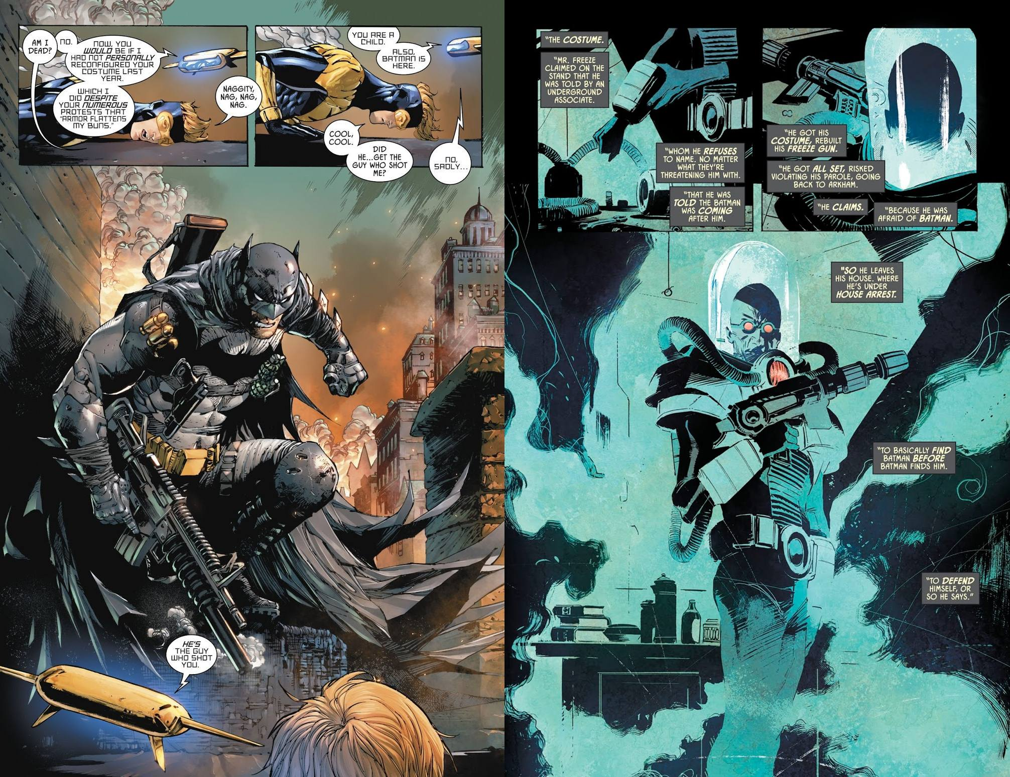 Batman Rebirth Deluxe Edition vol 4 review