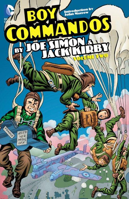 The Boy Commandos Volume 2