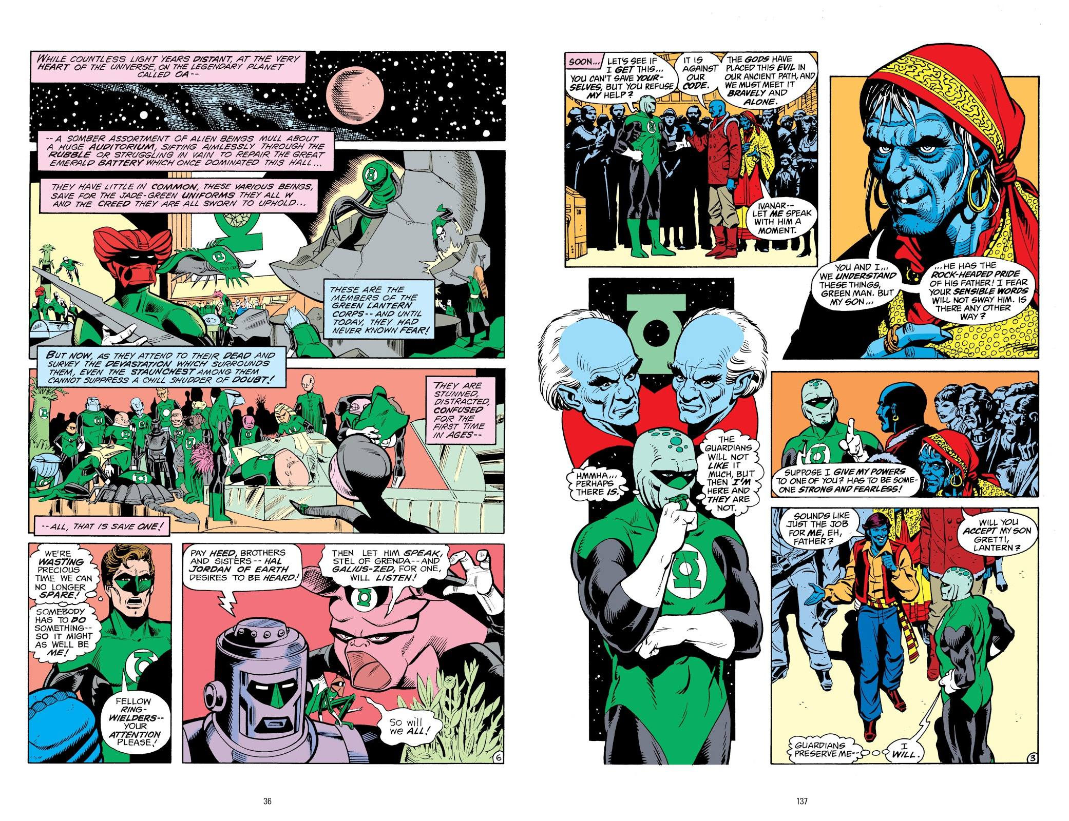 ales of the Green Lantern Corps review