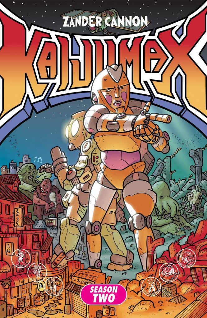 Kaijumax Season Two: The Seamy Underbelly
